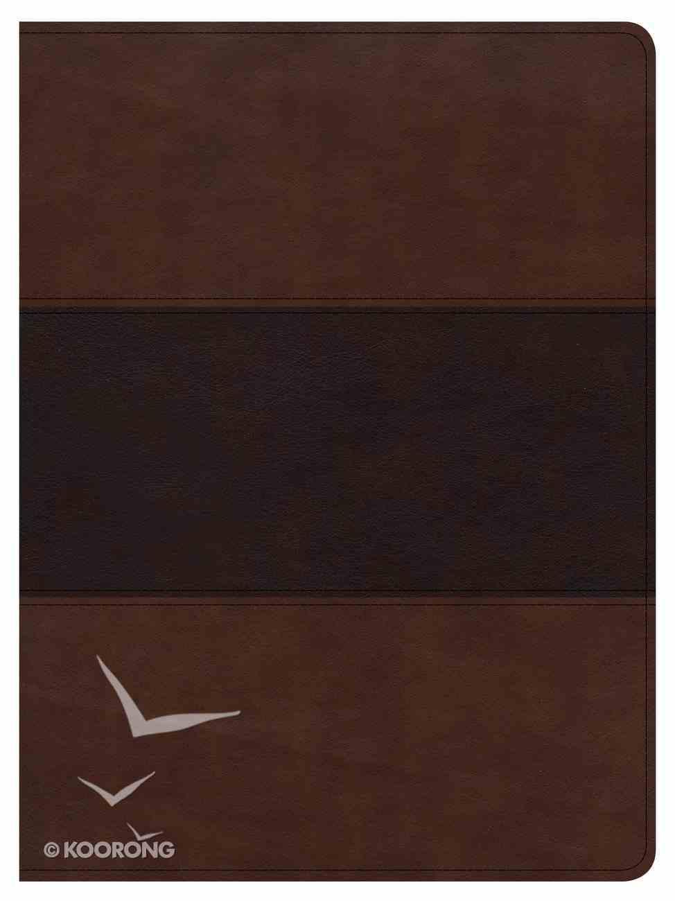 CSB Apologetics Study Bible Mahogany Imitation Leather