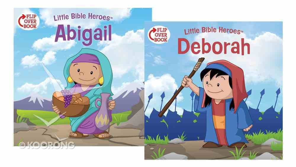 Deborah/Abigail Flip-Over Book (Little Bible Heroes Series) Paperback