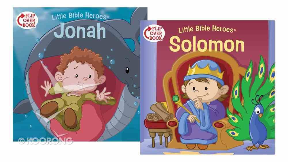 Solomon/Jonah Flip-Over Book (Little Bible Heroes Series) Paperback