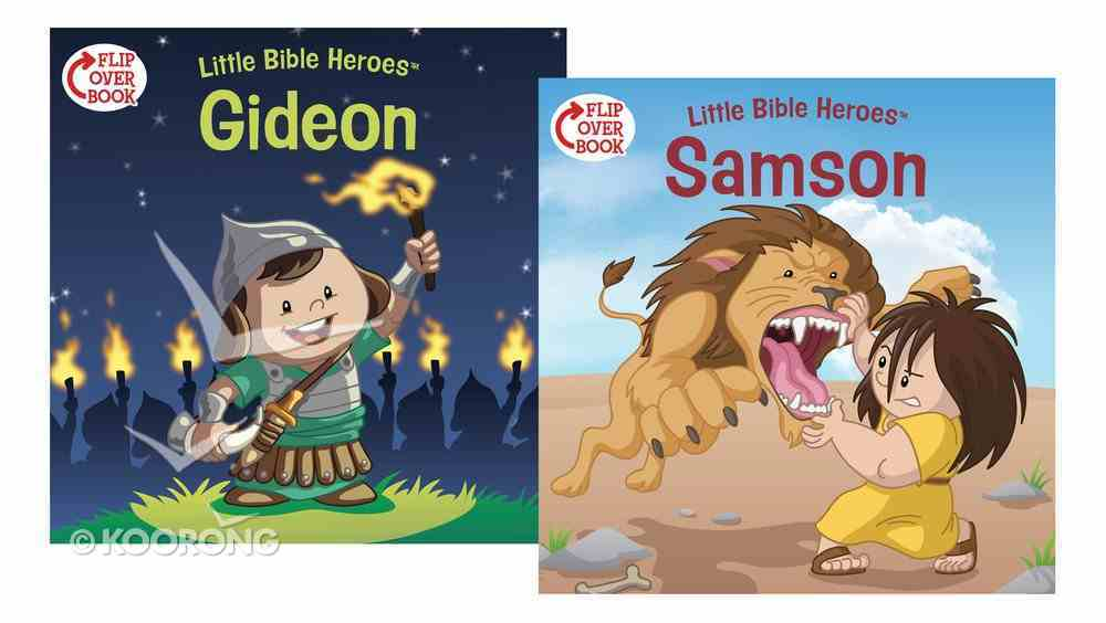 Samson/Gideon Flip-Over Book (Little Bible Heroes Series) Paperback