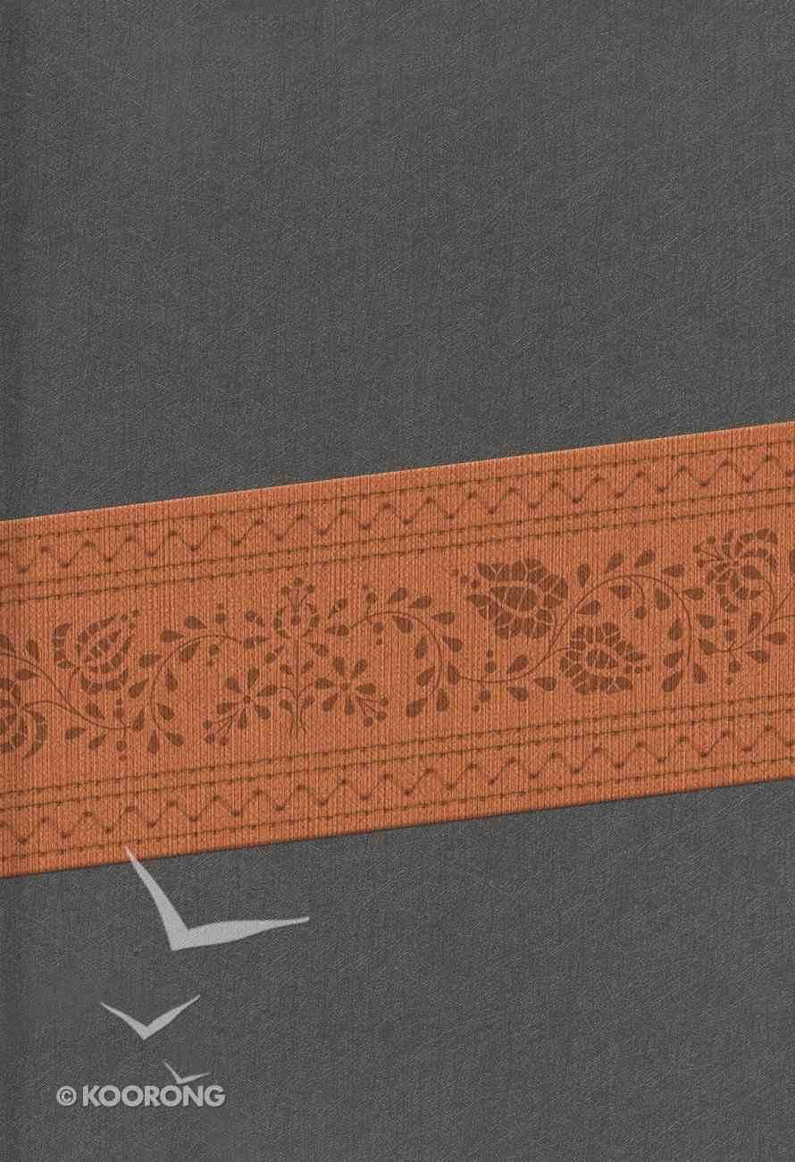 Rvr 1960 Biblia Letra Grande Tamao Manual Gris Piel Fabricada Edicin Con Cierre Bonded Leather