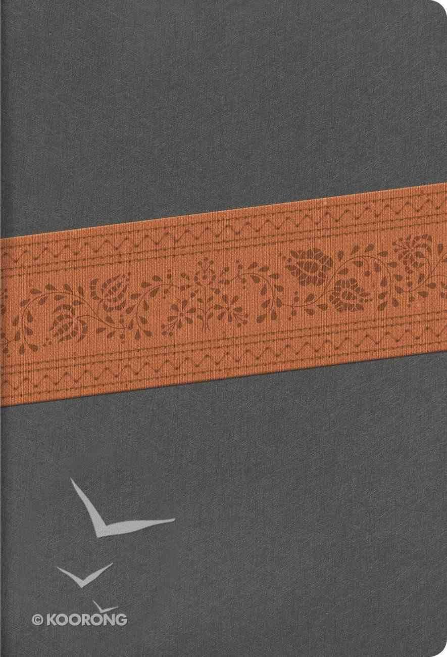 Rvr 1960 Biblia Letra Sper Gigante Gris Piel Fabricada Edicin Con Ndice Y Cierre Bonded Leather