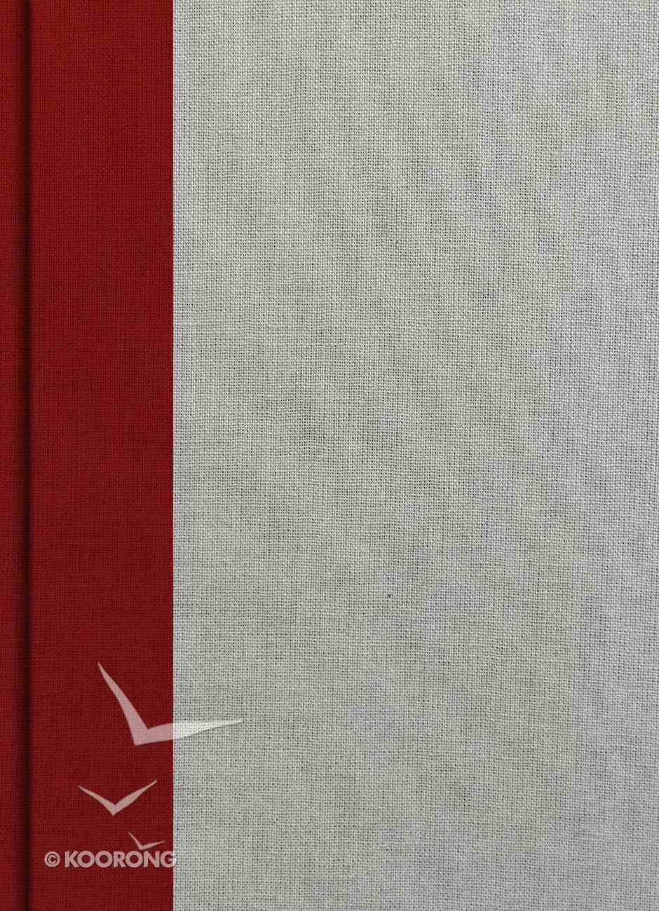 NKJV Holman Study Bible Crimson/Gray Indexed Hardback