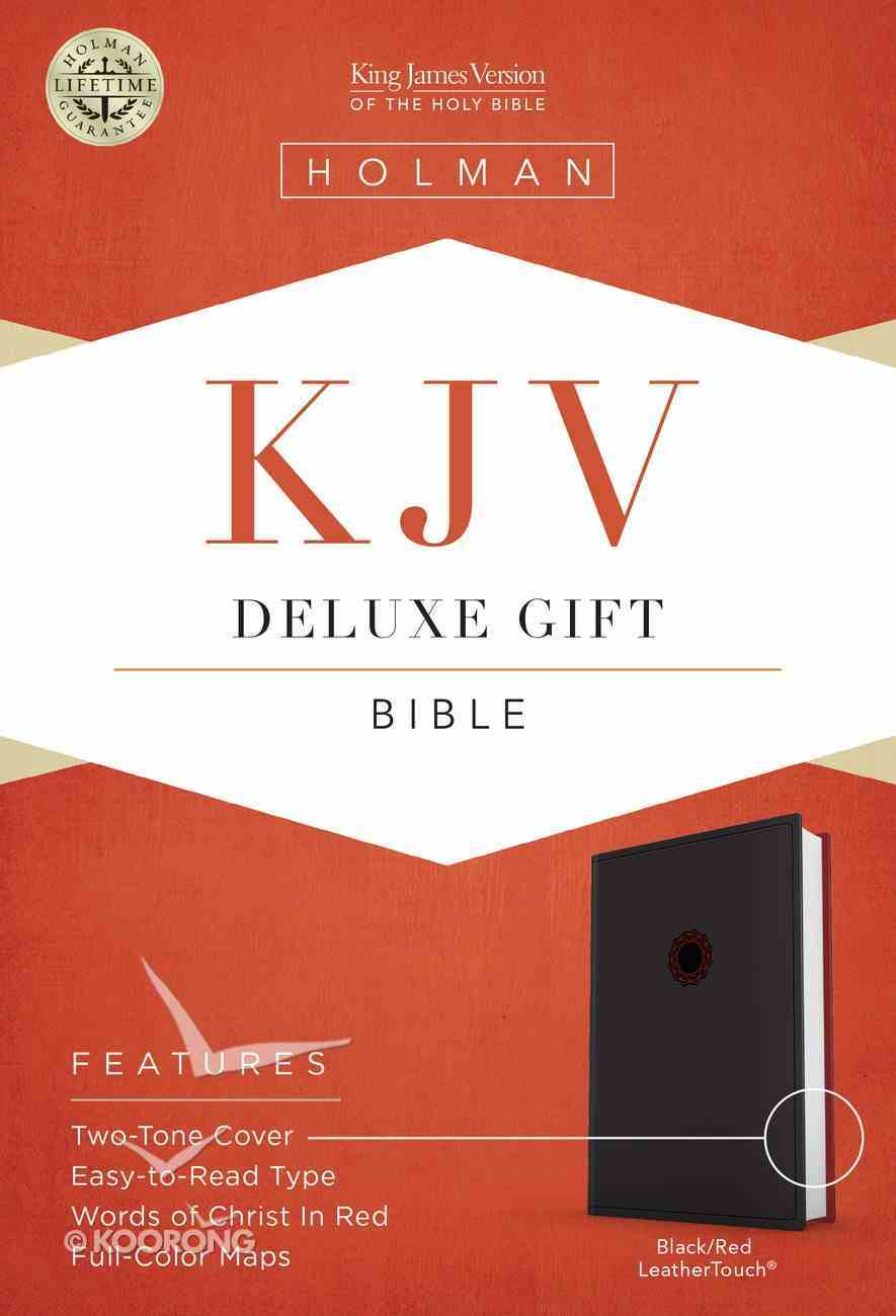 KJV Deluxe Gift Bible Black Imitation Leather