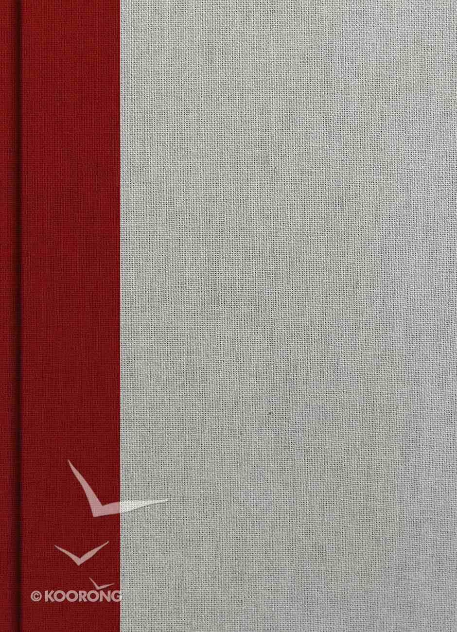 KJV Study Bible Crimson/Gray Hardback