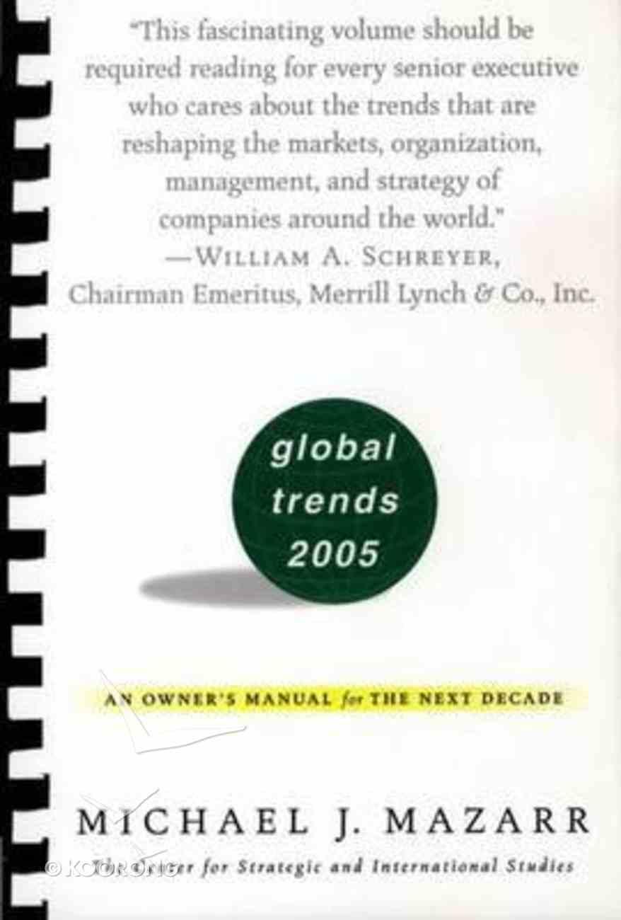 Global Trends 2005 Paperback