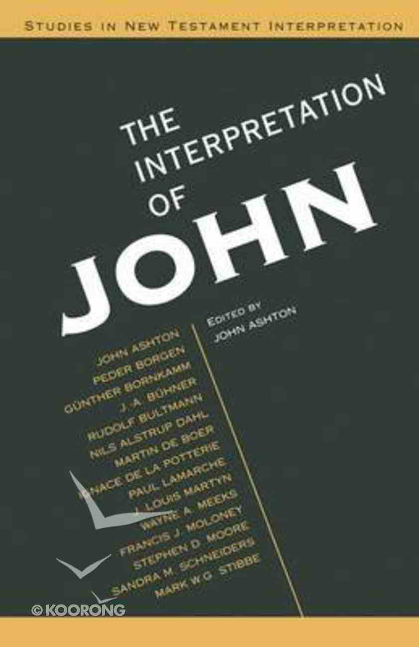Interpretation of John (& Enlarged) Paperback