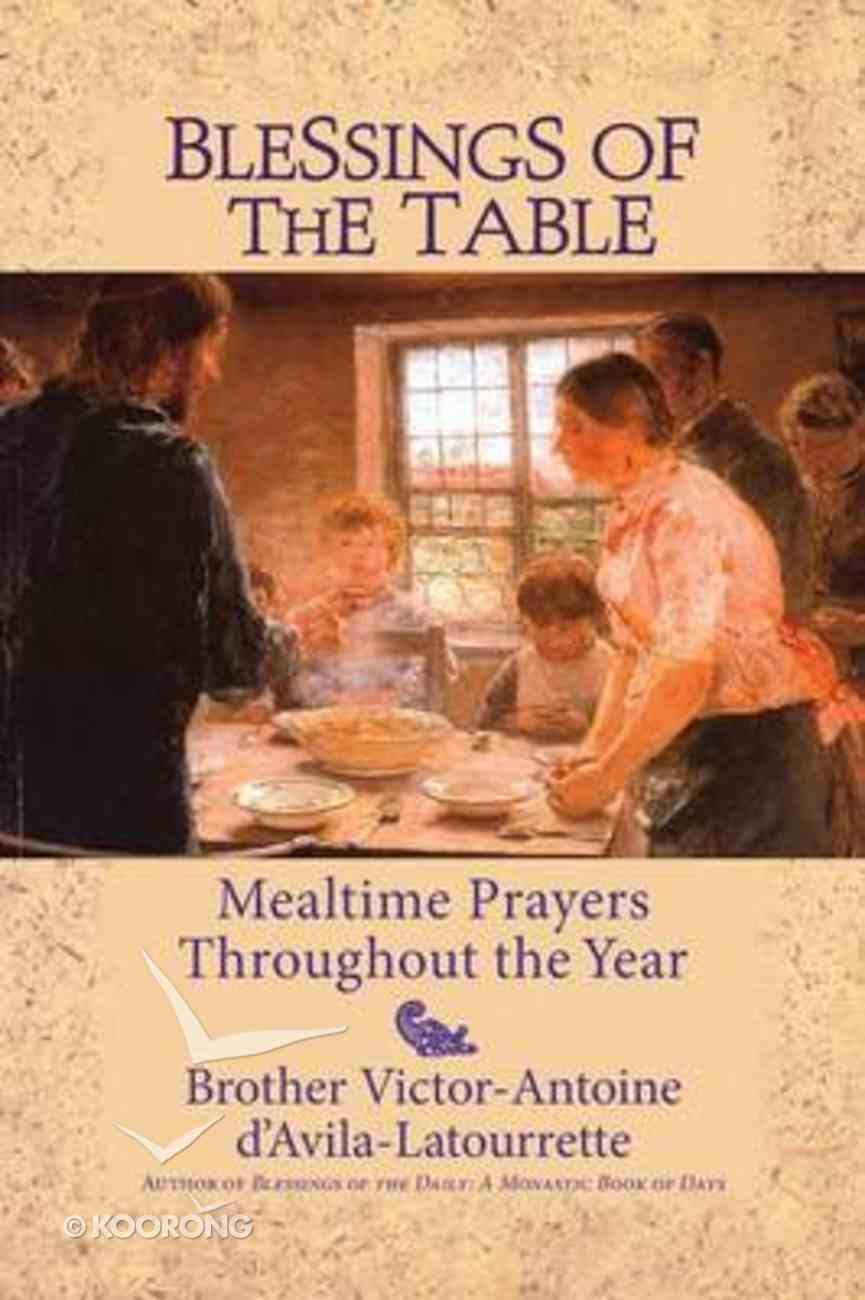 Blessings of the Table Paperback