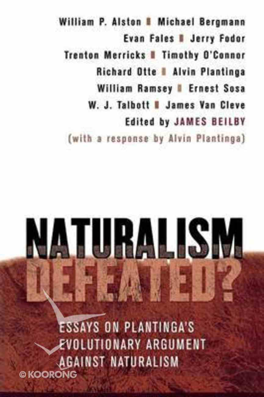 Naturalism Defeated? Paperback