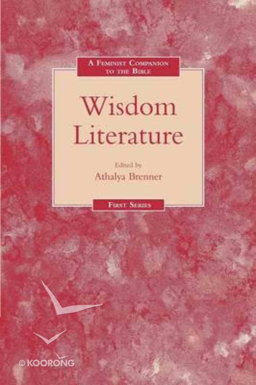 A Feminist Companion to the Wisdom Literature Paperback