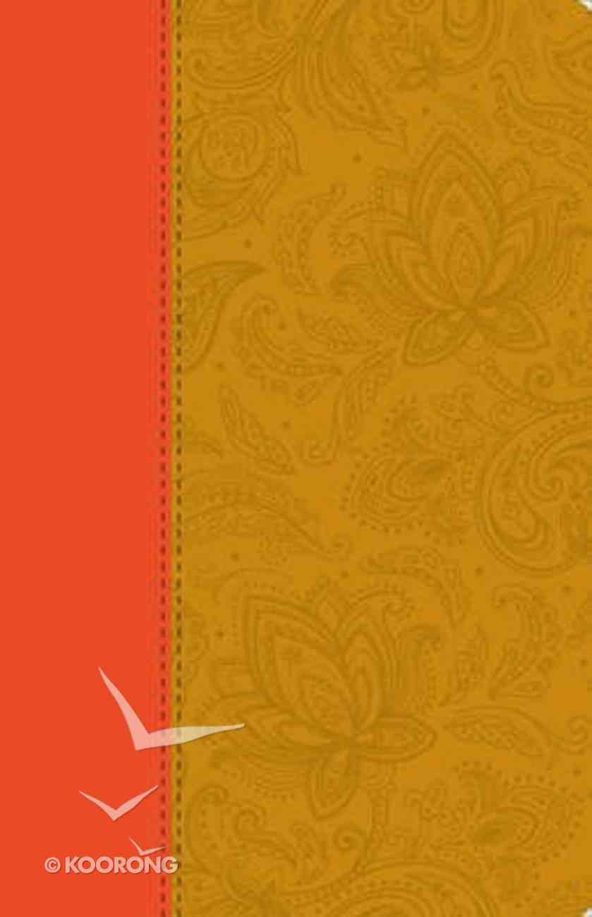 ESV Thinline Bible Paisley Tan Imitation Leather