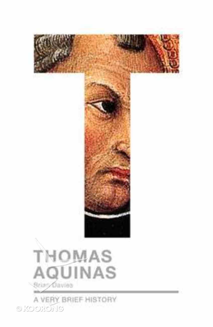 Avbh: Thomas Aquinas Paperback