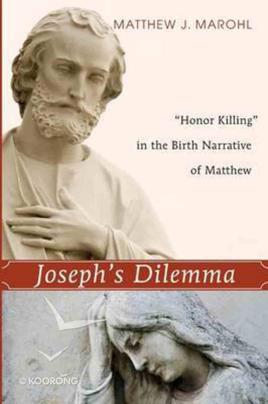 Joseph's Dilemma Paperback