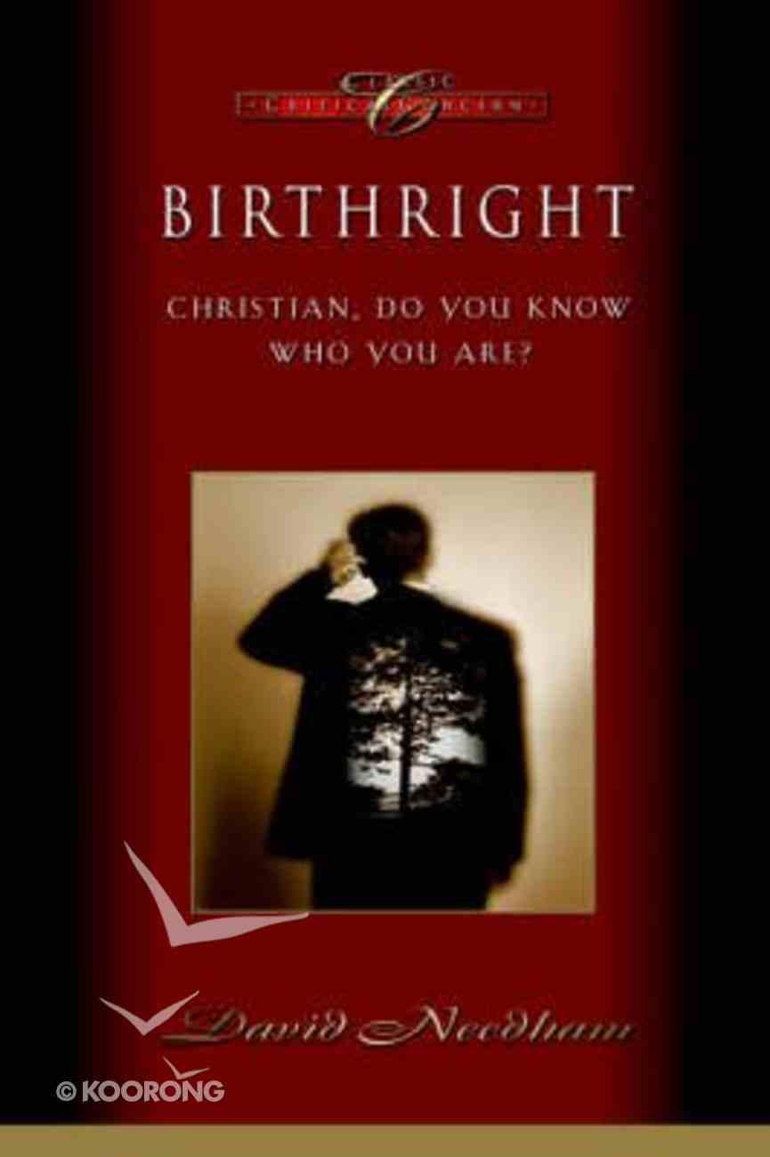 Birthright Paperback
