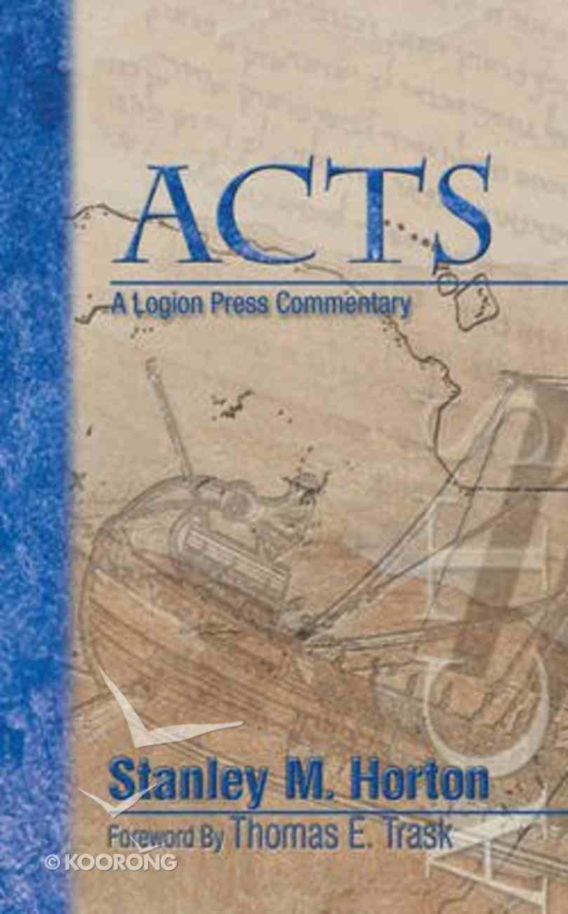 Acts Commentary Paperback