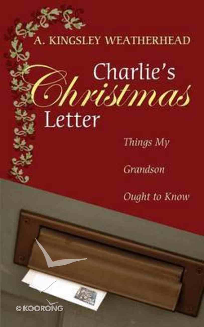 Charlie's Christmas Letter Paperback
