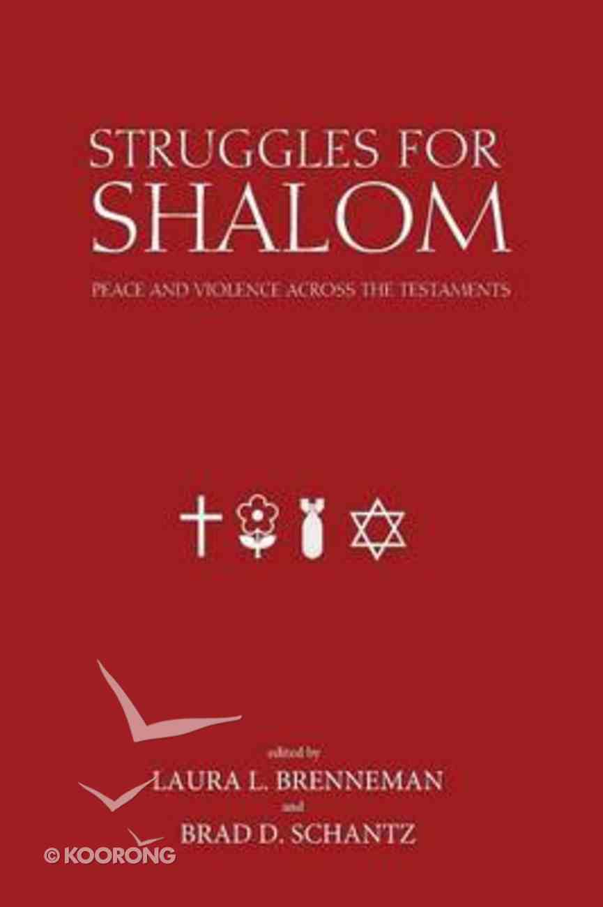 Struggles For Shalom Paperback