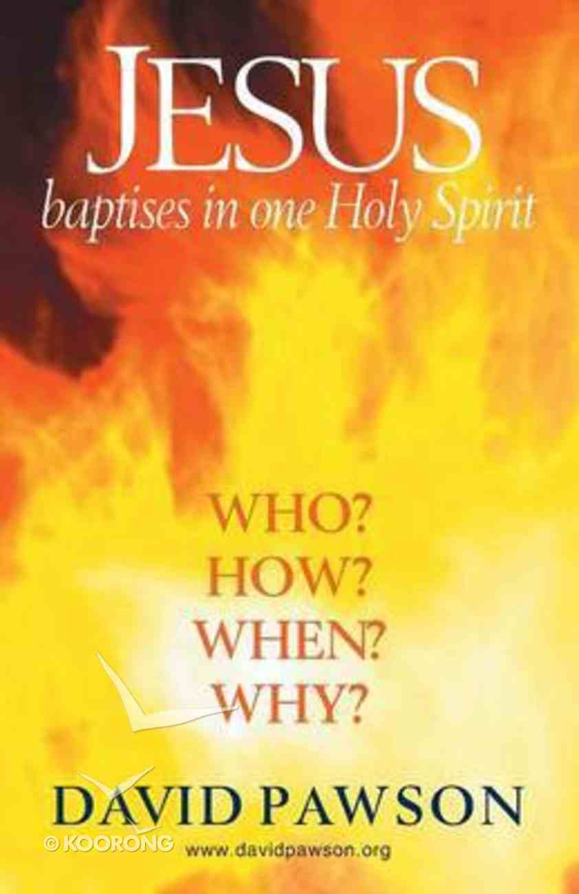 Jesus Baptises in One Holy Spirit Paperback