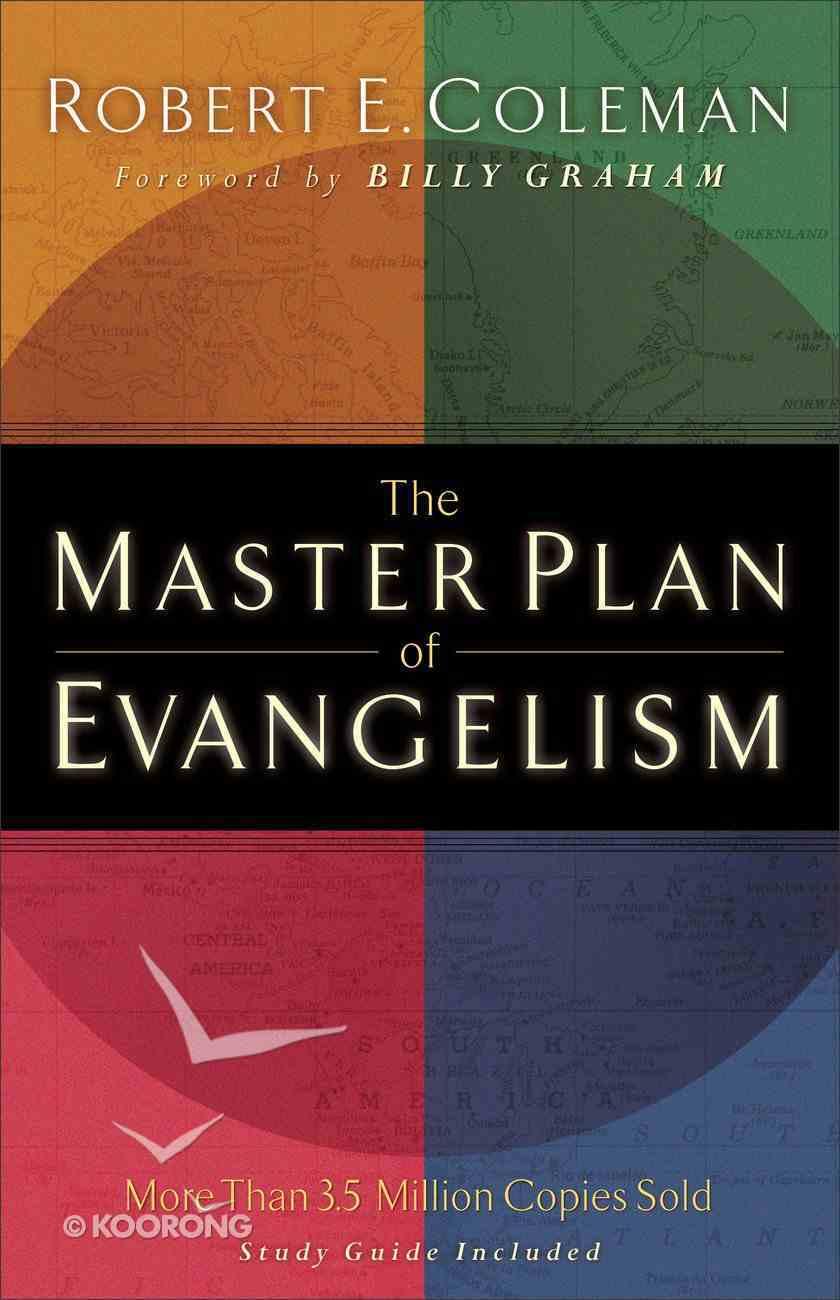 The Master Plan of Evangelism Paperback
