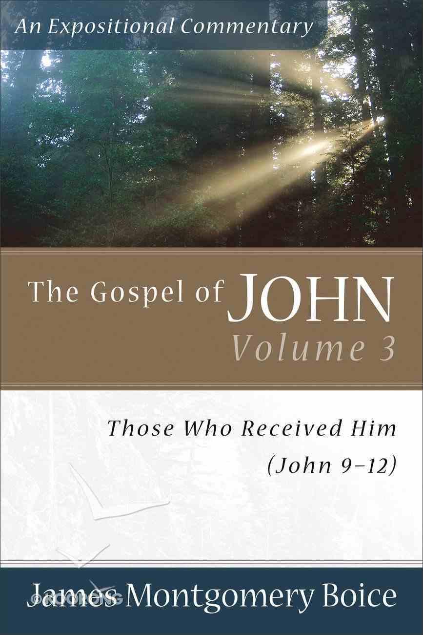 Gospel of John (Volume 3) (Expositional Commentary Series) Paperback