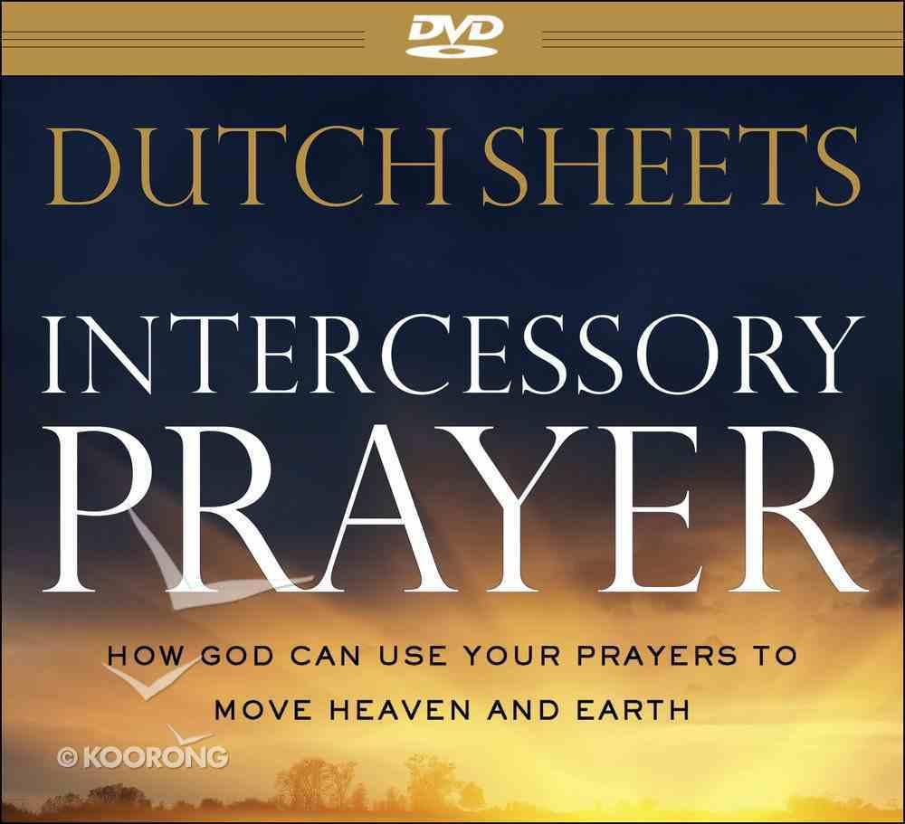 Intercessory Prayer (Repackaged Edition) Dvd-rom