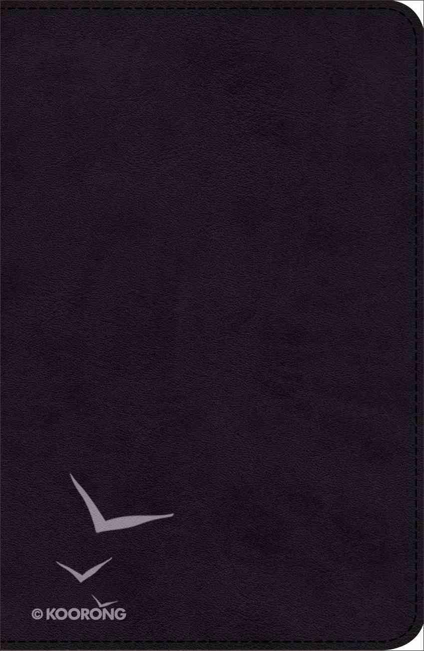 KJV Pray the Scriptures Bible Black Duravella (Red Letter Edition) Imitation Leather