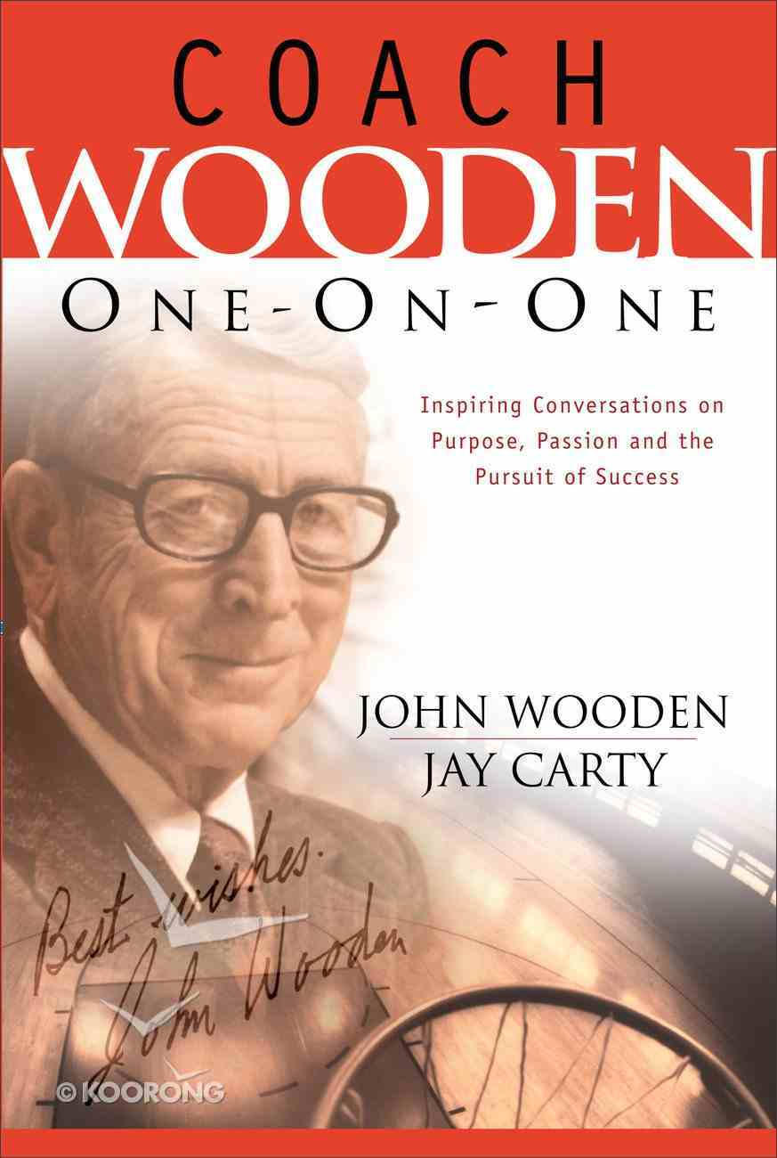 Coach Wooden One-On-One Paperback