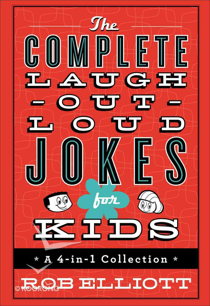 4in1 Collection: The Complete Laugh-Out-Loud Jokes For Kids Hardback