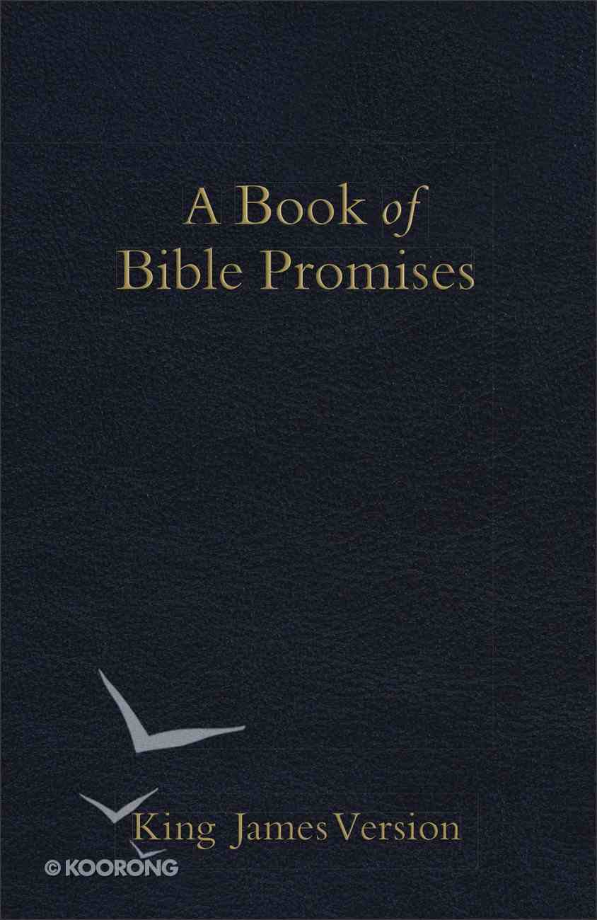 KJV Book of Bible Promises Midnight Blue Imitation Leather