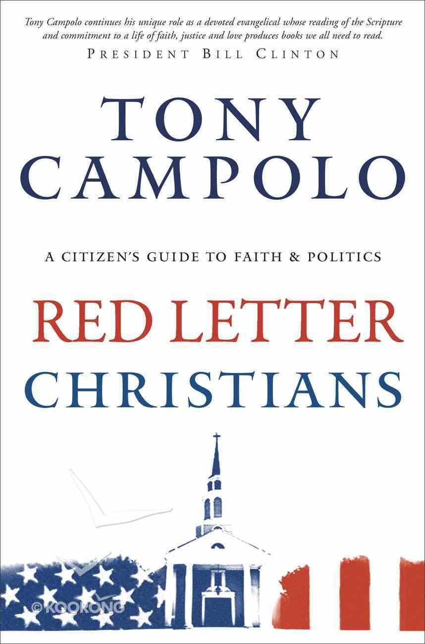 Red Letter Christians Paperback