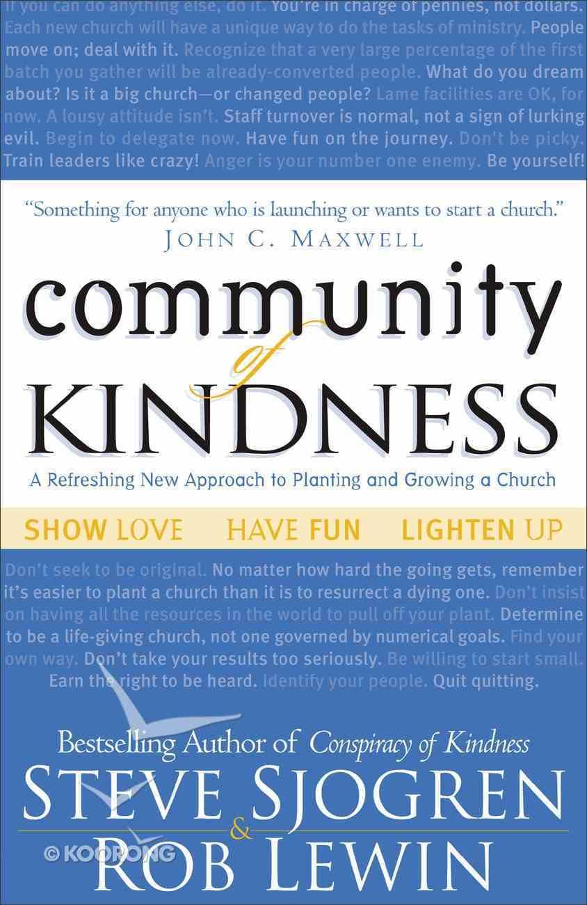 Community of Kindness Paperback