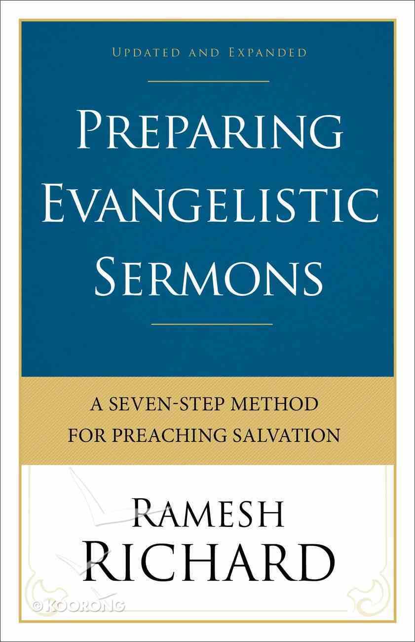 Preparing Evangelistic Sermons (& Expanded Edition) Paperback