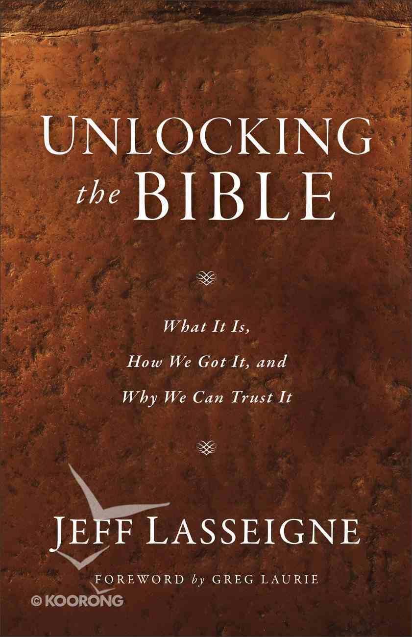 Unlocking the Bible Paperback