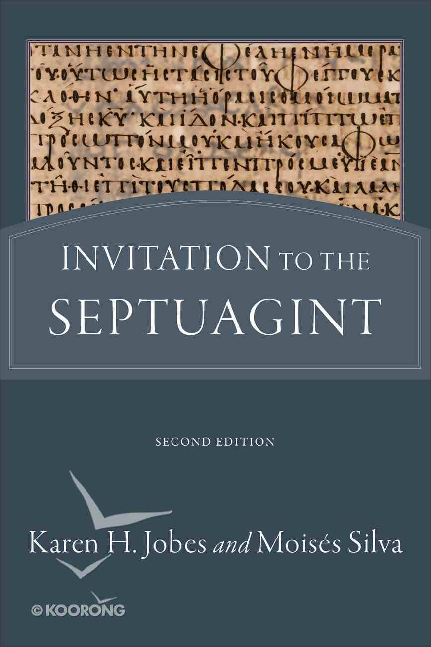 Invitation to the Septuagint (2nd Edition) Paperback