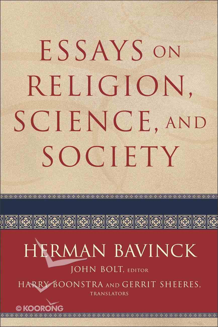 Essays on Religion, Science, and Society Paperback