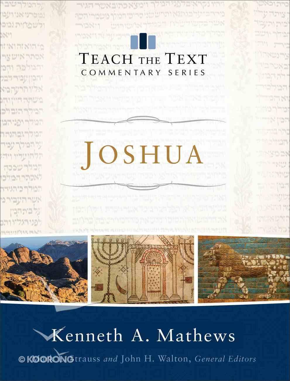 Joshua (Teach The Text Commentary Series) Hardback