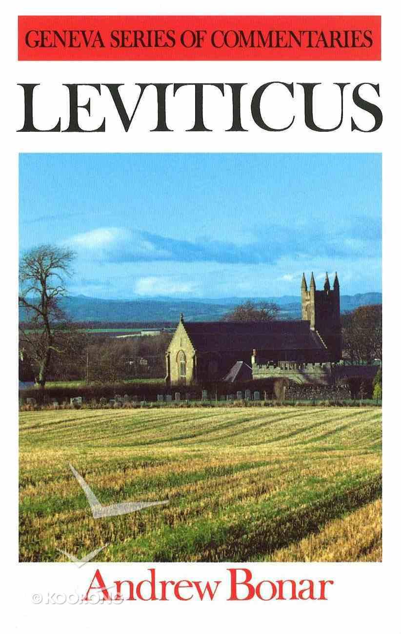 Leviticus (Geneva Series Of Commentaries) Hardback