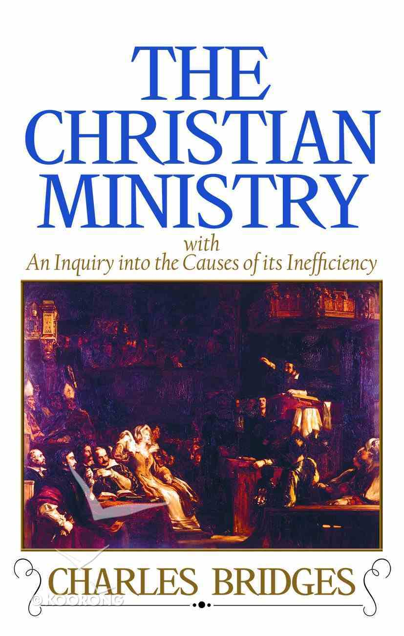 The Christian Ministry Hardback
