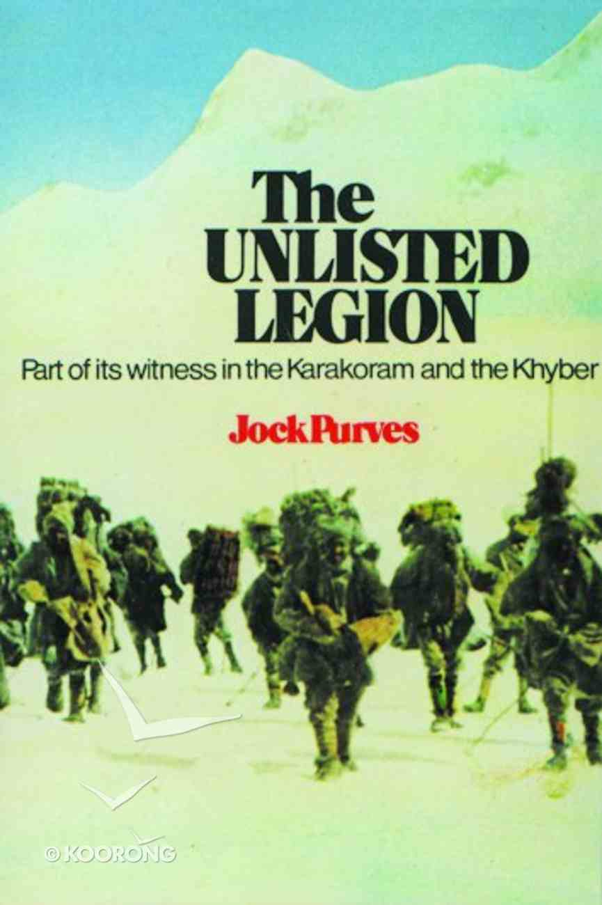 The Unlisted Legion Paperback