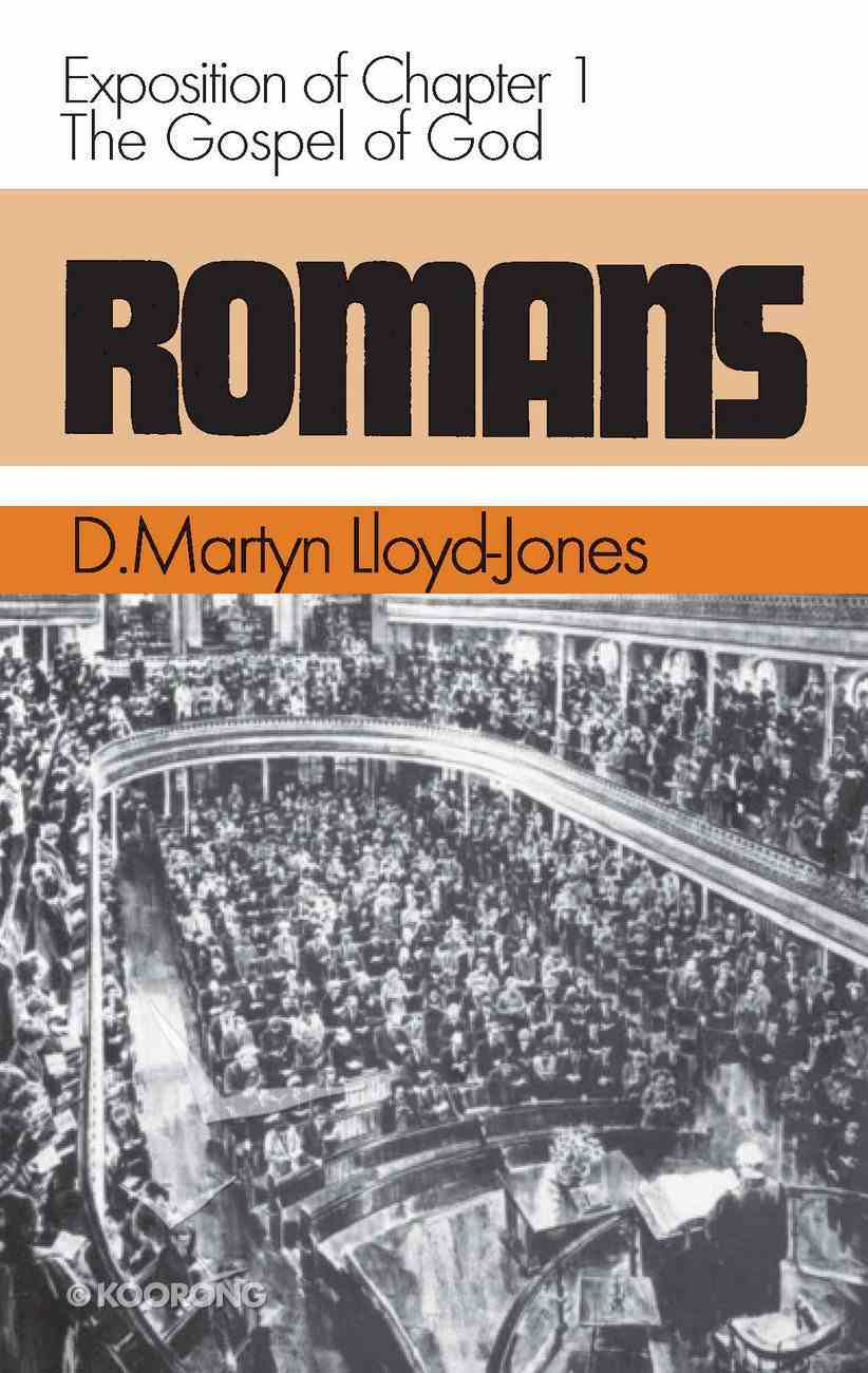 Romans 1: Gospel of God Hardback