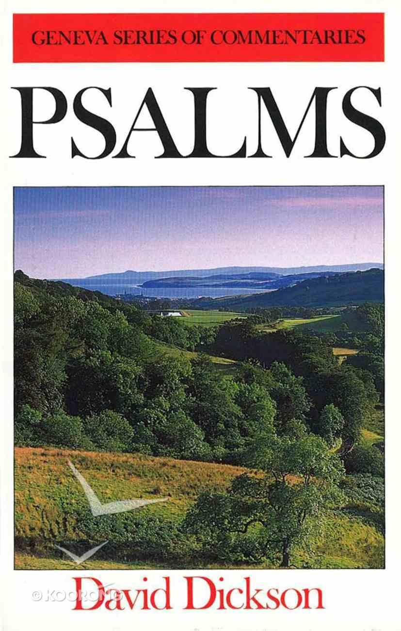 Psalms (Geneva Series Of Commentaries) Hardback