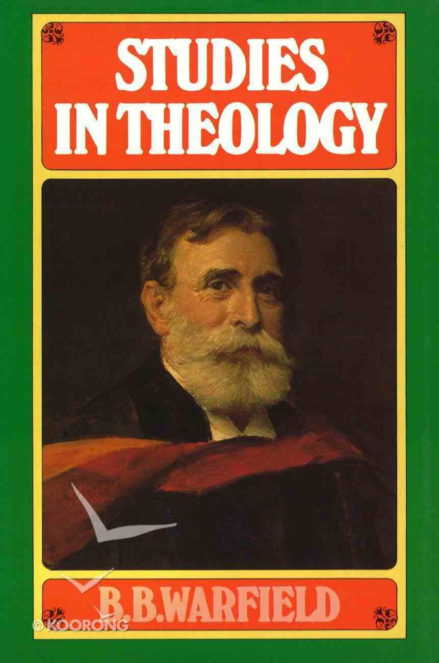 Studies in Theology Hardback