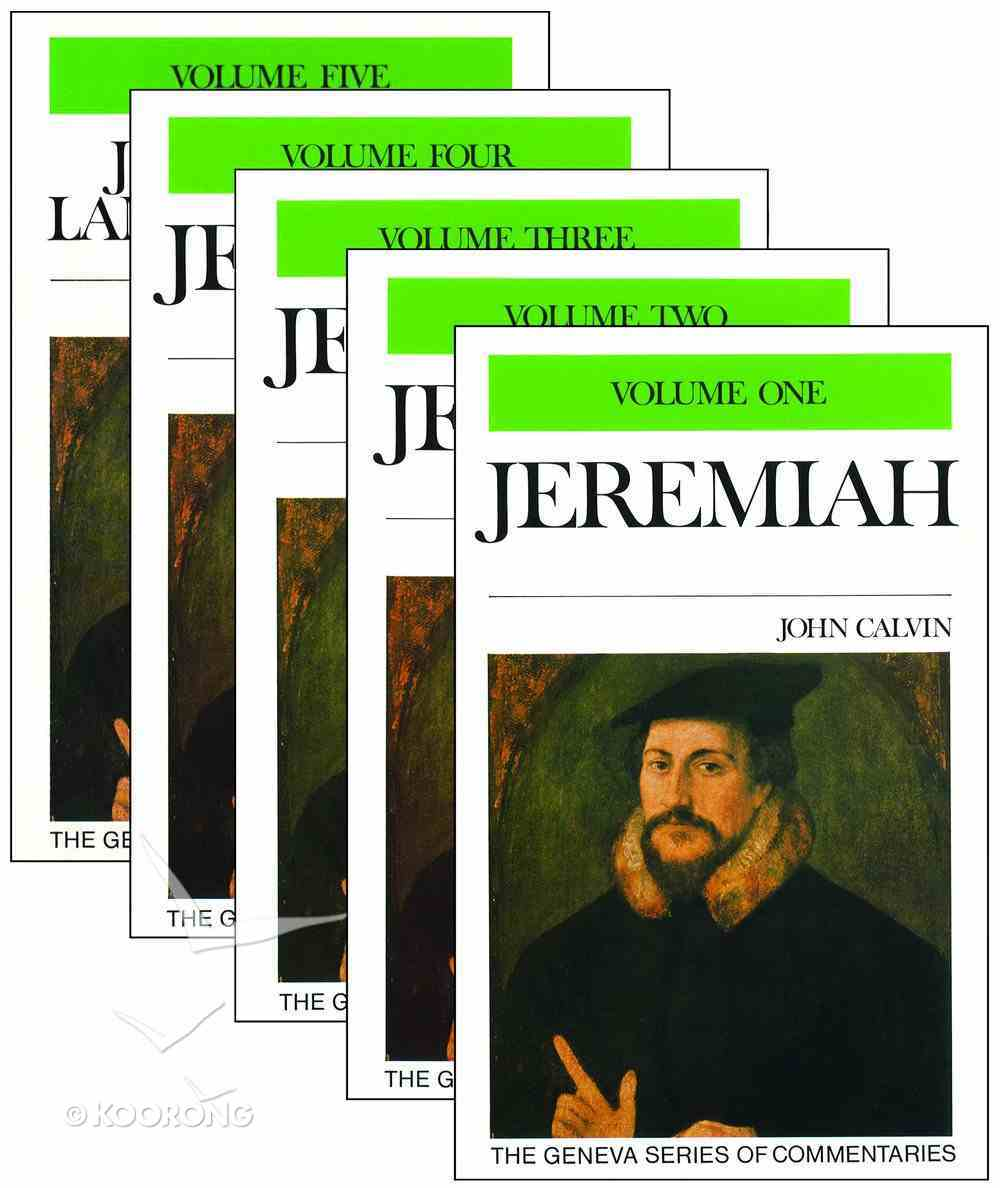 Jeremiah & Lamentations (5 Volume Set) (Geneva Series Of Commentaries) Hardback