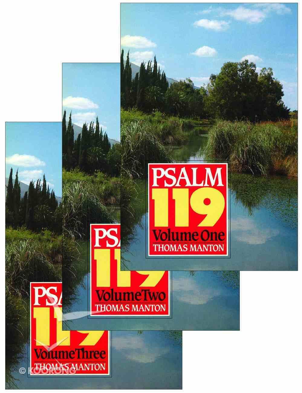 Psalm 119 (3 Vol Set) Hardback
