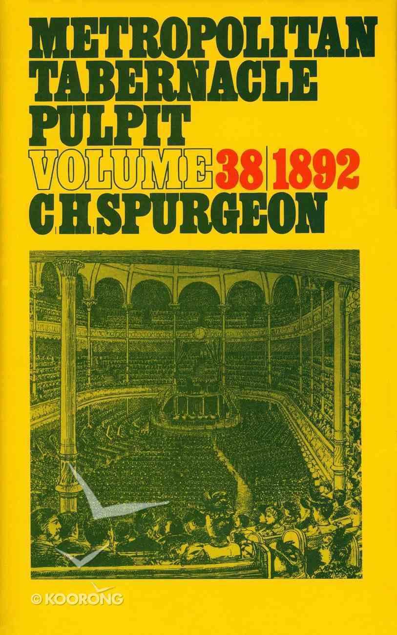 Metropolitan Tabernacle Pulpit #38 Hardback