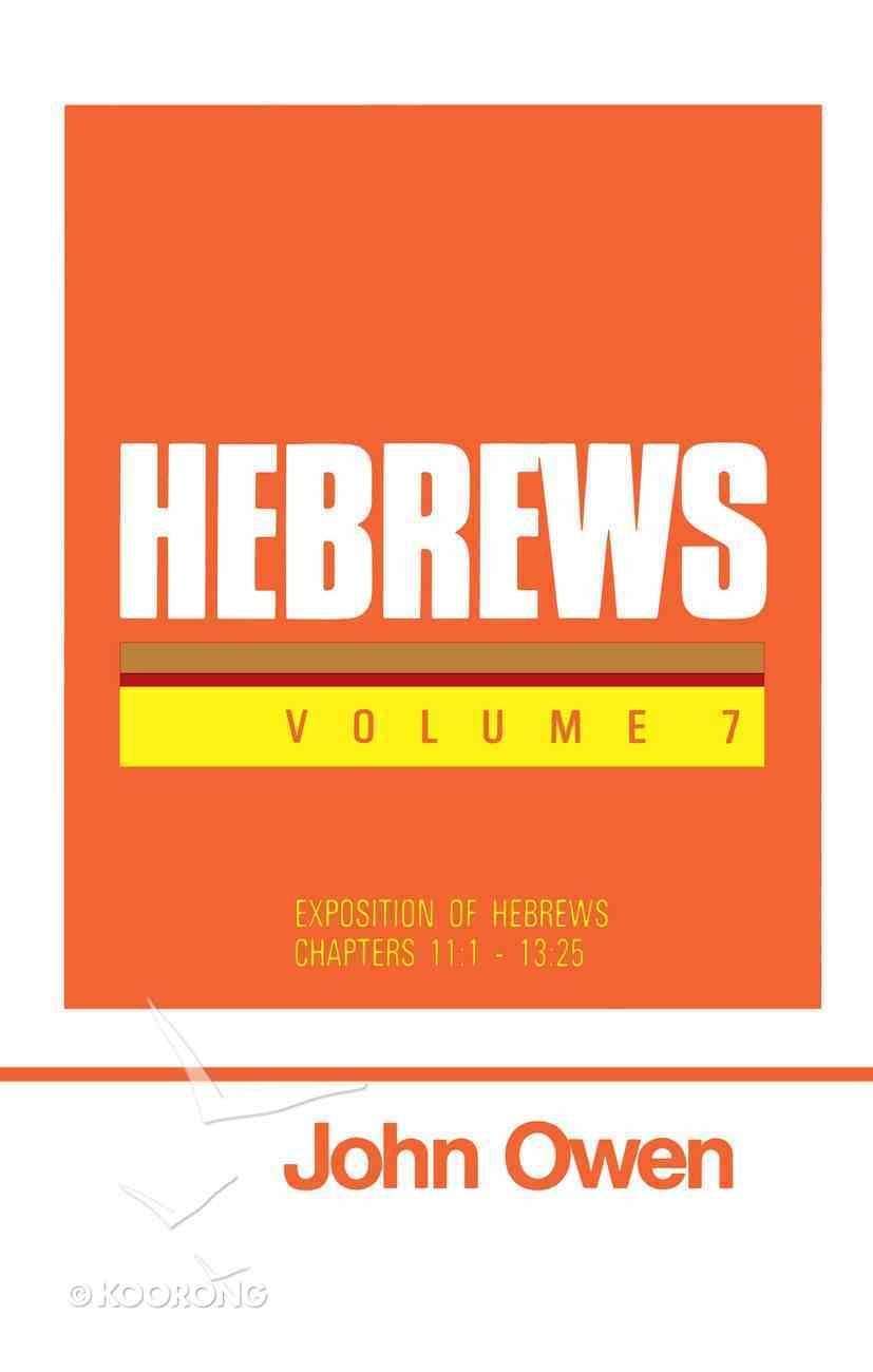 Hebrews (Vol 7) Hardback