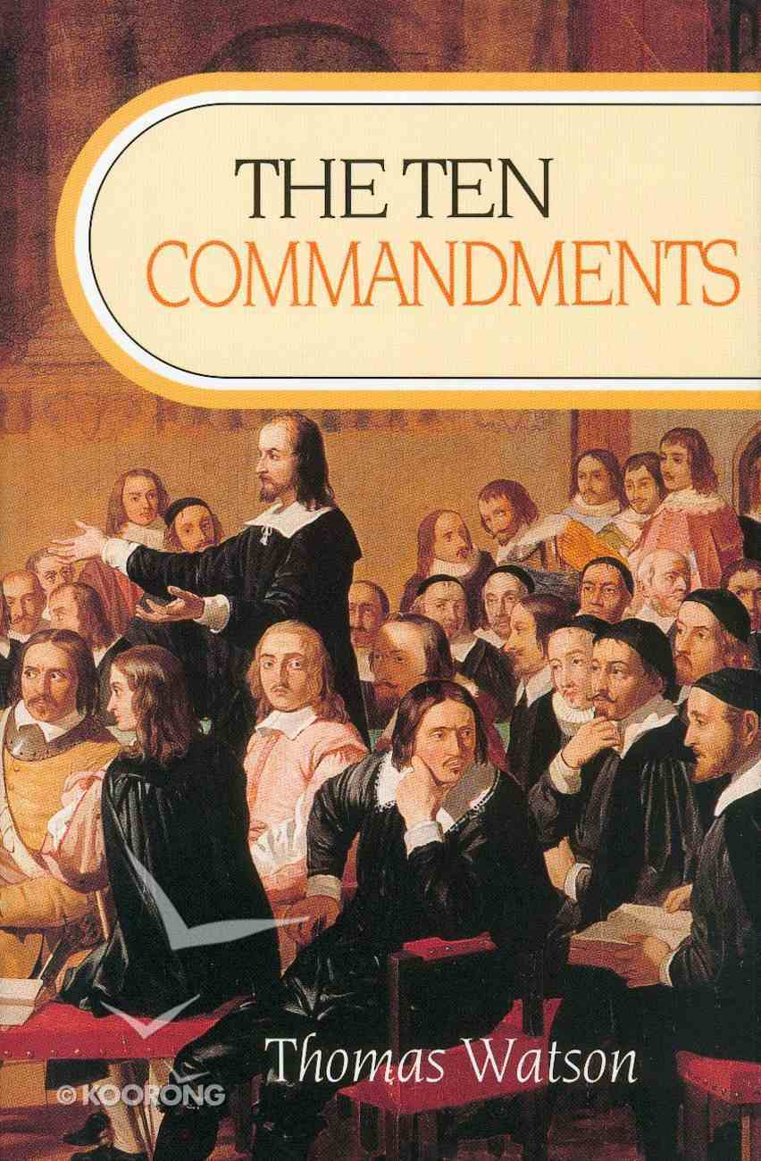 Ten Commandments (Clothbound) Hardback
