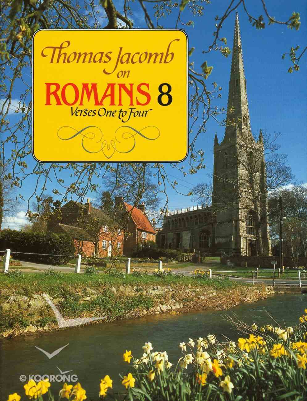Romans 8 Verses 1-4 Hardback