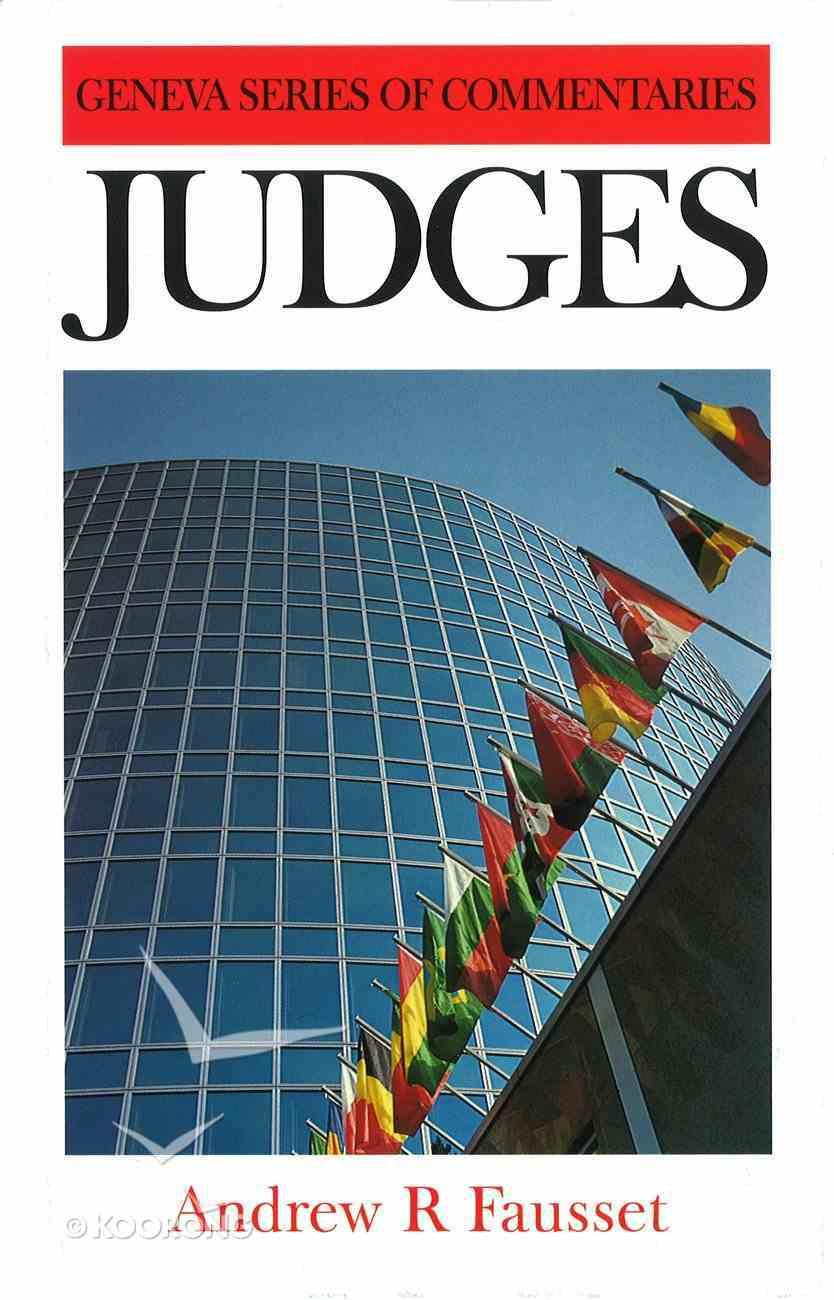 Judges (Geneva Series Of Commentaries) Hardback