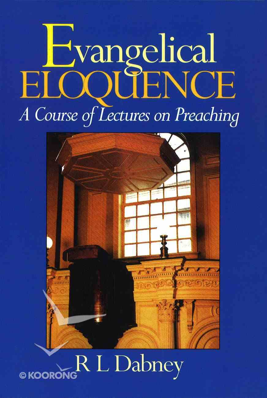 Evangelical Eloquence Paperback